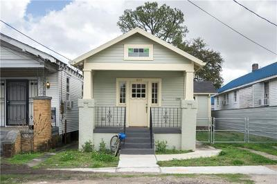 New Orleans Single Family Home For Sale: 1829 Mandeville Street
