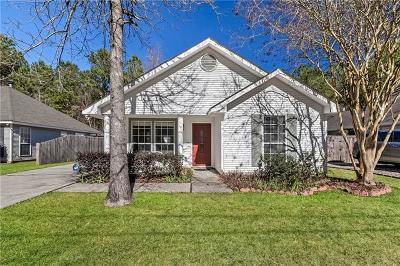 Mandeville Single Family Home For Sale: 639 Chevreuil Street