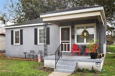 Westwego Single Family Home For Sale: 885 West Drive