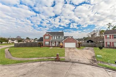 Slidell Single Family Home For Sale: 125 Dillon Drive