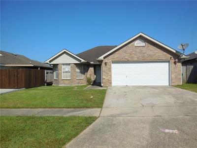 Marrero Single Family Home For Sale: 2708 Bayou Carencro Drive
