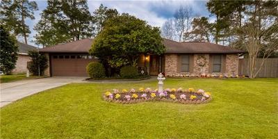 Slidell Single Family Home Pending Continue to Show: 166 Lake D'este Drive