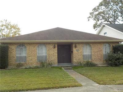 Kenner Single Family Home For Sale: 21 Billyday Avenue