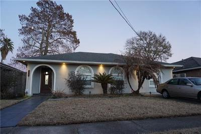 Kenner Single Family Home For Sale: 3112 Texas Avenue