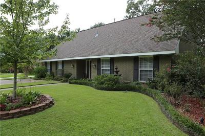 Mandeville Single Family Home For Sale: 524 Marilyn Drive