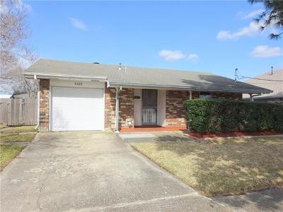 Metairie Single Family Home For Sale: 5225 Wabash Street