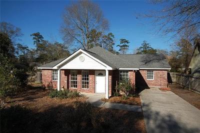 Mandeville Single Family Home For Sale: 3931 Monroe Street