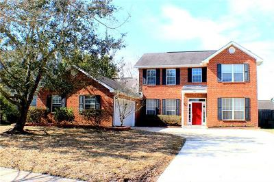 Slidell Single Family Home For Sale: 989 Maple Creek Drive