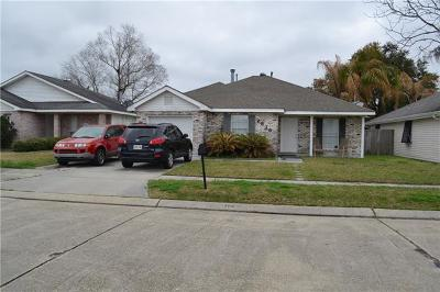 Marrero Single Family Home For Sale: 2516 Misty Meadows Drive