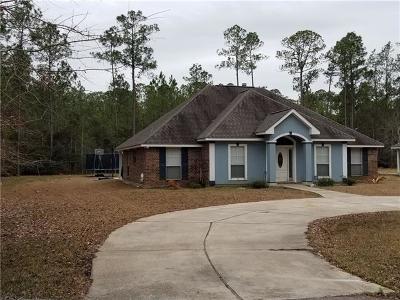 Slidell Single Family Home For Sale: 32212 N Poitevent Road
