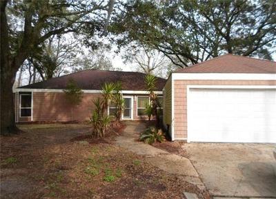 Slidell Single Family Home For Sale: 2926 Palm Circle