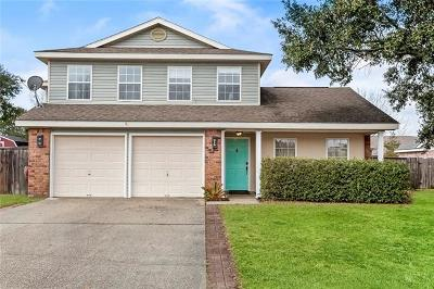 Slidell Single Family Home For Sale: 3049 Meadow Lake Drive East