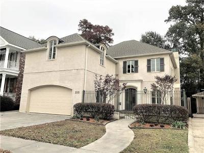 Metairie Single Family Home Pending Continue to Show: 225 Ridgewood Drive