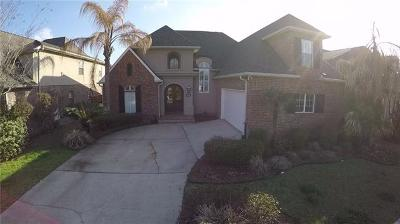 Kenner Single Family Home For Sale: 229 Legrande Bayou Lane
