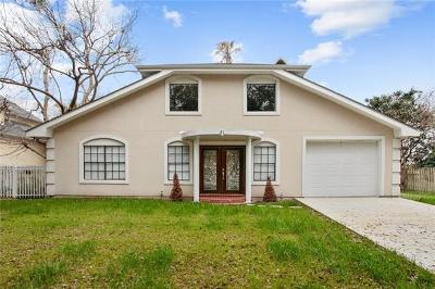 Kenner Single Family Home For Sale: 8 Mesa Street