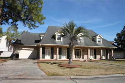 Kenner Single Family Home Pending Continue to Show: 90 Chateau Latour Drive