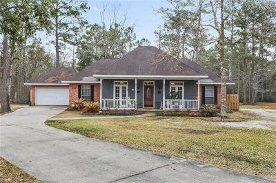 Slidell Single Family Home For Sale: 453 Parlange Drive