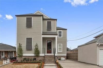 New Orleans Single Family Home For Sale: 117 Spencer Avenue