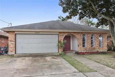 Kenner Single Family Home For Sale: 4240 Alabama Avenue