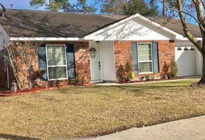Slidell Single Family Home For Sale: 110 Bishops Drive