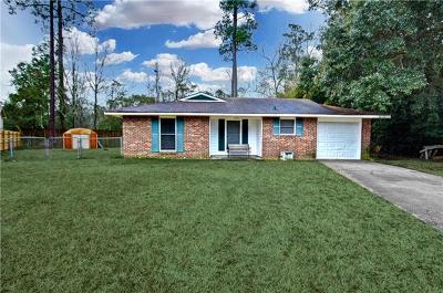 Slidell Single Family Home For Sale: 2152 Park Drive