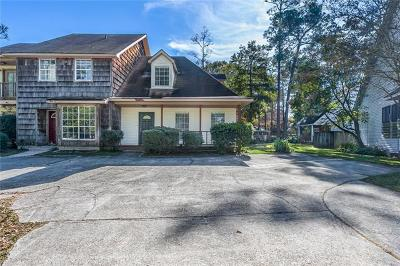 Slidell Condo For Sale: 775 Bayou Liberty Road #A