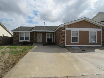 Single Family Home For Sale: 3705 Cimwood Drive