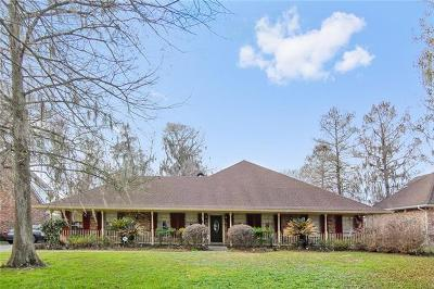 Destrehan Single Family Home For Sale: 2329 Ormond Boulevard
