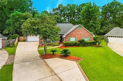 Slidell Single Family Home For Sale: 121 Harrow Drive