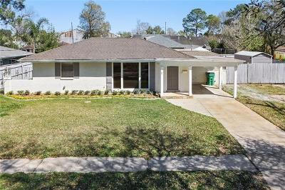 Metairie Single Family Home For Sale: 5 Woodlawn Avenue