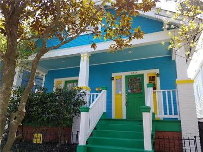 New Orleans Single Family Home For Sale: 2804 Bell Street