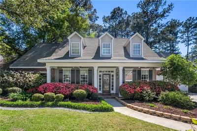 Mandeville Single Family Home For Sale: 1263 Springwater Drive