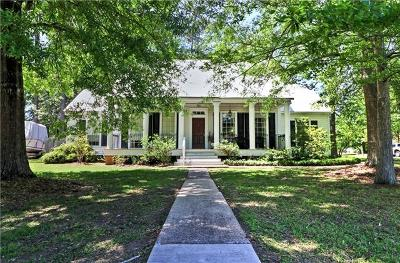 Mandeville Single Family Home For Sale: 156 Frenchmen Drive