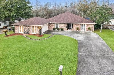 Destrehan Single Family Home For Sale: 153 Villere Drive