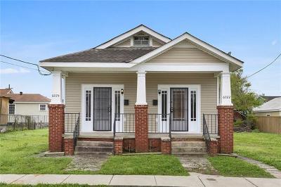 Multi Family Home For Sale: 6022-24 Burgundy Street