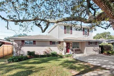 Single Family Home For Sale: 1816 Neyrey Drive