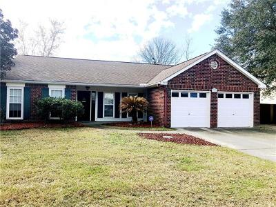 Slidell Single Family Home For Sale: 1909 Edgemere Drive