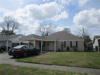 Marrero Single Family Home For Sale: 1312 Gaudet Drive