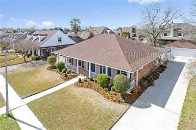 Kenner Single Family Home For Sale: 35 Everglades Street