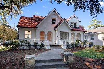 New Orleans Single Family Home For Sale: 5500 Fontainebleau Drive