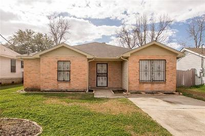 Harvey Single Family Home For Sale: 2908 Max Drive