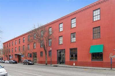 Jefferson Parish, Orleans Parish Condo For Sale: 330 Julia Street #203