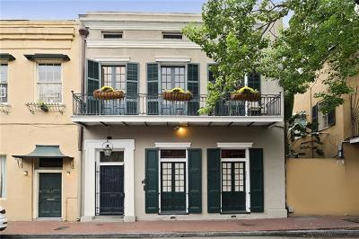 New Orleans Single Family Home For Sale: 1009 St. Louis Street