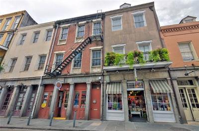 Jefferson Parish, Orleans Parish Condo For Sale: 333 Chartres Street #E