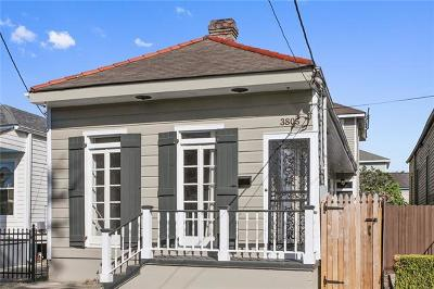 New Orleans Single Family Home For Sale: 3805 Constance Street
