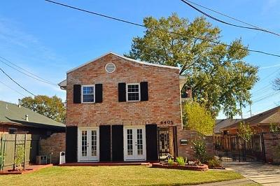 Single Family Home For Sale: 4405 Jeannette Dr Drive