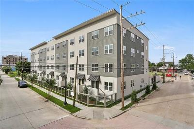 Jefferson Parish, Orleans Parish Condo For Sale: 2100 St Thomas Street #106