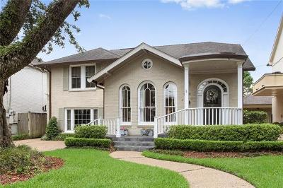 New Orleans Single Family Home For Sale: 220 Fairway Drive