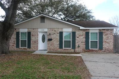 Marrero Single Family Home For Sale: 5240 Belle Terre Road