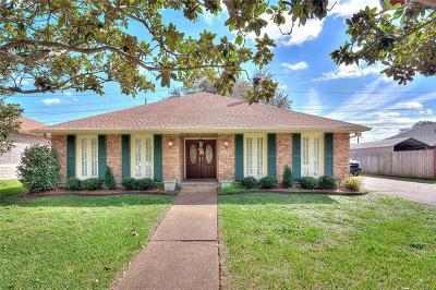 Kenner Single Family Home For Sale: 4110 Platt Street